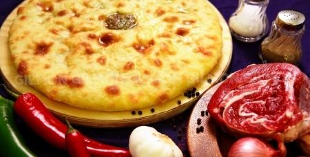 """Осетинские и домашние пироги, пицца, вареники, пельмени в горшочках и коробочках от ресторана доставки традиционной кухни """"Пионер"""""""